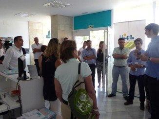 La presentación de este revolucionario servicio ha tenido lugar en la Mancomunidad de Islantilla