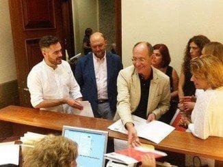 Díaz Grtillo presenta en el Congreso una petición para que se haga el trasvase al Condado de manera urgente