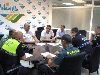 La reunión ha tenido lugar en la sede de la Mancomunidad de Islantilla