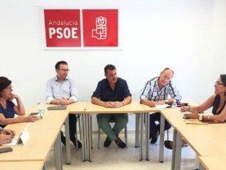 Reunión de los parlamentarios socialistas