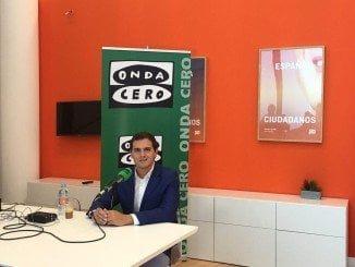 El líder de Ciudadanos en el programa 'Más de Uno' de Onda Cero