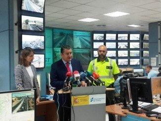 El delegado del Gobierno en Andalucía pide precaución a los andaluces en la operación de Tráfico 1º de Agosto