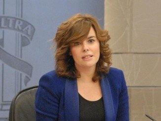 La vicepresidenta en funciones asegura que España necesita un gobierno cuanto antes