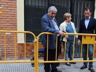 Los populares comprobaron in situ el estaod y las obras en el barrio del Matade4ro