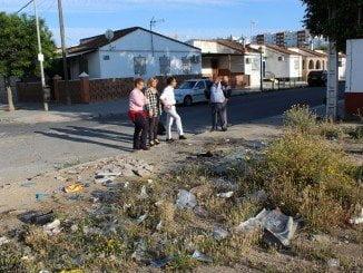 Han mantenido un encuentro con la Asociación de Vecinos Virgen de Belén de la barriada de La Navidad
