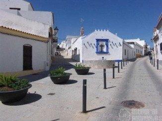 Una de las típicas calles de Ayamonte