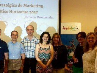 Asistentes a la reunión sobre el Plan de Marketing turístico Horizonte 2020