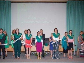 El acto de graduación se ha celebrado en la Facultad de Ciencias del Trabajo