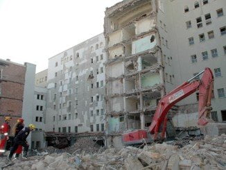 La degradación de la zona, tras la demolición del hospital, ha sido progresiva