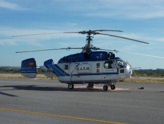 Helicóptero para la lucha contra el fuego