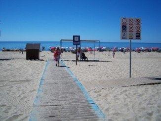 La playa de La Antilla vuelve a optar a la candidatura de la playa más accesible