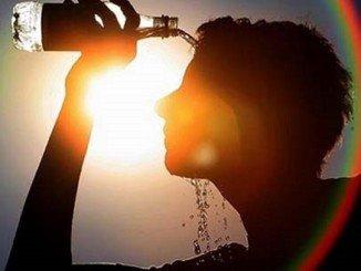 Mucha hidratación durante la ola de calor