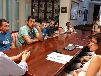 Reunión del Ayuntamiento con vecinos de las aldeas