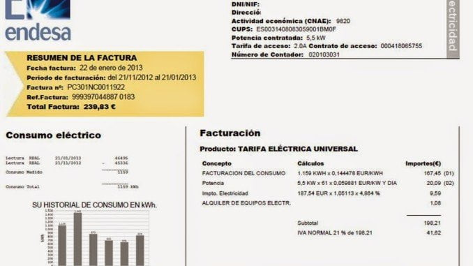 El coste de la electricidad ha pasado de 38,90 euros por megavatio hora (MWh) en junio, a 40,29 euros