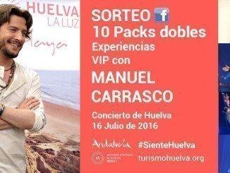 Si quieres estar con Manuel Carrasco en su concierto del día 16 gratis y de tú a tú, participa en el concurso