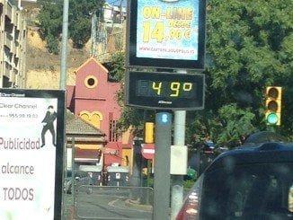 La semana pasada los termómetros ya sobrepasaron en mucho los 40 grados