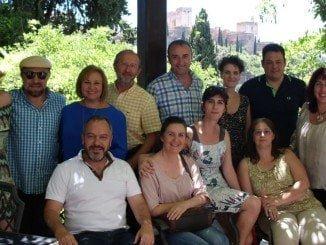 Participantes en la conferencia celebrada en la Universidad de Granada