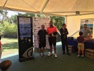 David Perales, el ganador del II Trofeo de Golf Ciudad de Lepe