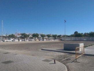 La zona, de 2.500 metros cuadrados, ya se está habilitando para 27 plazas
