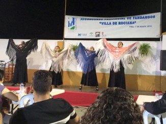 Una moguereña gana el concurso de fandangos Villa de Rociana