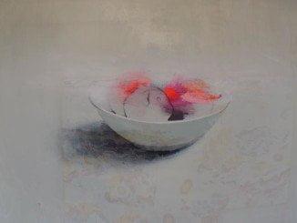 Uno de los cuadros ganadores del Salón Nacional de Pintura 'Ciudad de Ayamonte'.