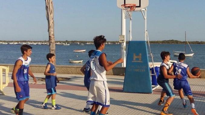 El circuito de baloncesto está organizado por la Diputación
