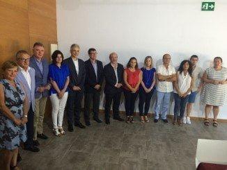 La firma del protocolo de actuación ha tenido lugar en el Ayuntamiento de la localidad