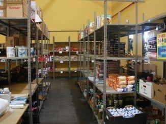 El presunto autor del robo sustrajo alimentos del almacén