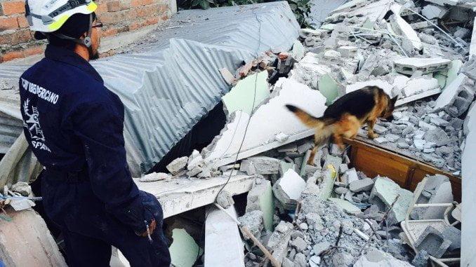 BUSF ha participado en diferentes lugares del mundo donde se han producido terremotos y tsunamis