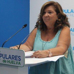 Carmen Céspedes, parlamentaria andaluza del PP