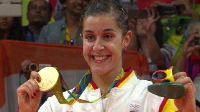 La onubense, tras recibir la Medalla de Oro