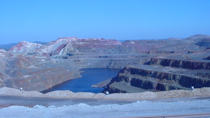 Cerro Colorado, uno de los recursos fotográficos del Portal de la Minería