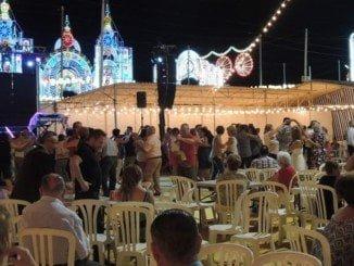 Todo está preparado en el recinto colombino para disfrutar de las Fiestas Grandes de Huelva