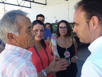 Pedro Pascual visita la cooperativa agroalimentaria Virgen del Rocío en Almonte