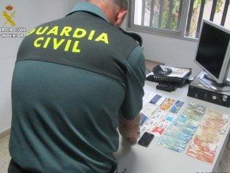 La Guardia Civil ha esclarecido 40 hechos delictivos de estafas