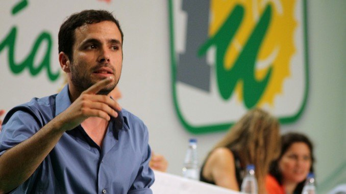 Alberto Garzón, coordinador federal de Izquierda Unida
