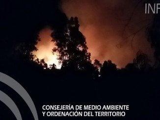 Incendio en El Castillo de las Guardas que se ha extendido a Zufre