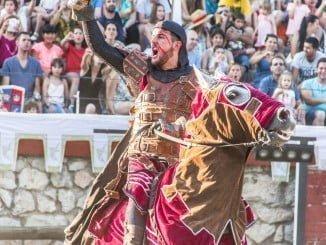 Los actores de Legend, representarán una auténtica justa medieval