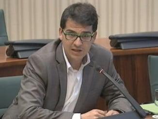 El diputado de C's, José María Espejo-Saavedra