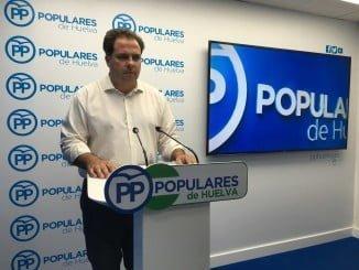 El vicesecretario general del PP de Huelva, Juan Carlos Duarte
