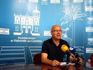 El concejal de Empleo del Ayuntamiento de Valverde, Juan Carlos Gutiérrez