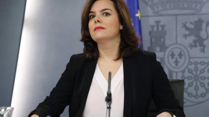 Sáenz de Santamaría ha indicado que quieren que esas negociaciones con C´s avancen a buen ritmo