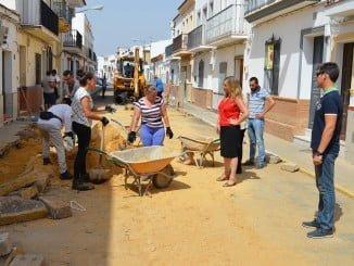 La alcaldesa ha comprobado el buen ritmo de las obras