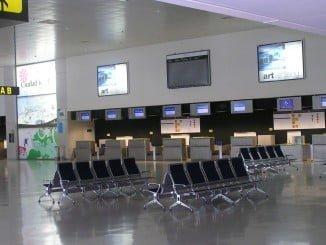 Uno de los llamados aeropuertos fantasma