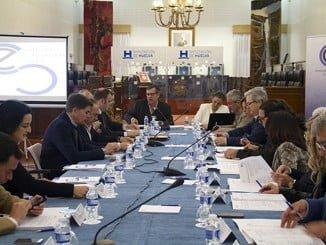 Una de las sesiones plenarias del CESpH