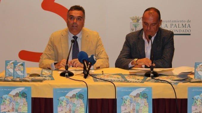El alcalde de La Palma y el concejal de Cultura presentan el evento