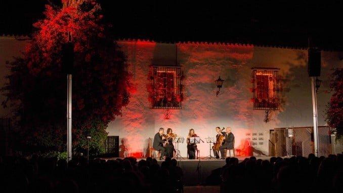 Un momento de la actuación del Quinteto de la Orquesta Sinfónica de RTVE