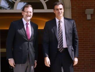 Rajoy quiere reunirse con Sánchez antes de decidir si va a la investidura