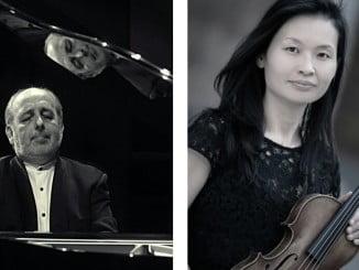 El pianista catalán y la violinista japonesa se unirán  para ofrecer un interesante recital