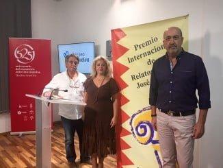 El premio José Nogales de 'Relatos cortos' de Diputación de Huelva ha sido para Miguel Sánchez.